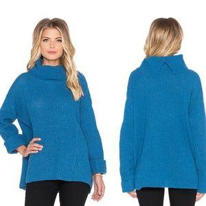 NWT FREE PEOPLE Sidewinder Chunky Wool Sweater